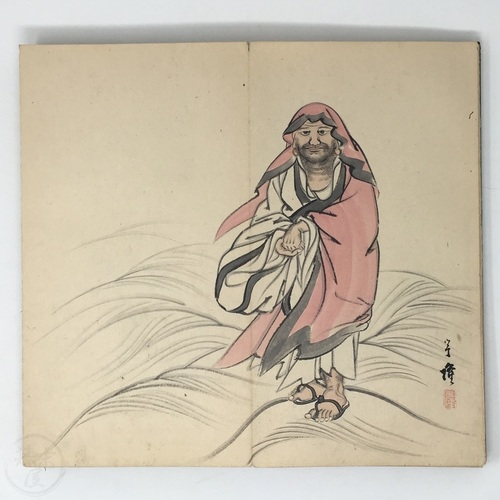 Hand drawn Illustrated Album by Hikita Uryu Impressive album depicting characters from Japanese legends