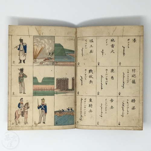 Guide to Western Military Strategy in Dutch and Japanese by Nakanishi Kiichiro