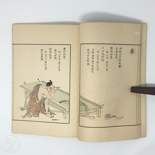 Traditional Occupations - Large Woodblock Printed Pair of Books Matching pair. Artwork by Tachibana Minko.