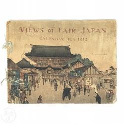 BAKUMATSUYA • Views of Fair Japan - Calendar for 1912 On ...